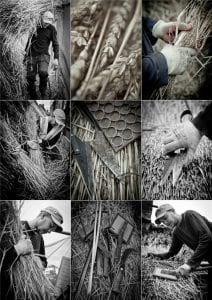 Traditional Thatching processes